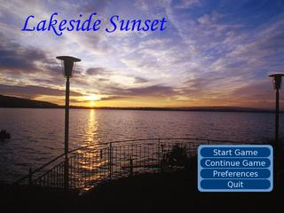 Lakeside Sunset screenshot 1