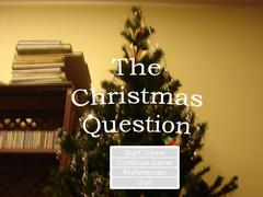 Christmas Question, The thumbnail